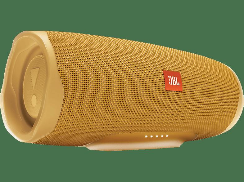 JBL Charge 4 Bluetooth Lautsprecher, Gelb, Wasserfest