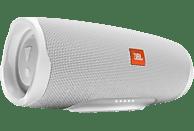 JBL Charge 4 Bluetooth Lautsprecher, Weiss, Wasserfest