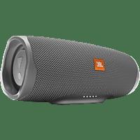 JBL Charge 4 Bluetooth Lautsprecher, Grau, Wasserfest