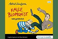 Astrid Lindgren - Kalle Blomquist lebt gefährlich - (CD)