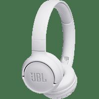 JBL Tune500, On-ear Kopfhörer Bluetooth Weiß