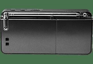 PEAQ PDR050-B Digitalradio, DAB+, FM, Schwarz