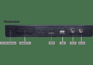 VISTRON VT860 DVB-C Receiver (HDTV, PVR-Funktion, Twin Tuner, DVB-C, DVB-C2, Schwarz)