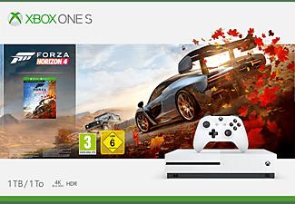 MICROSOFT Xbox One S 1TB Konsole - Forza Horizon 4 Bundle