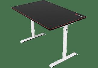 AROZZI Gaming Tisch Leggero, schwarz/weiß (ARENA-LEGG-WEIß)