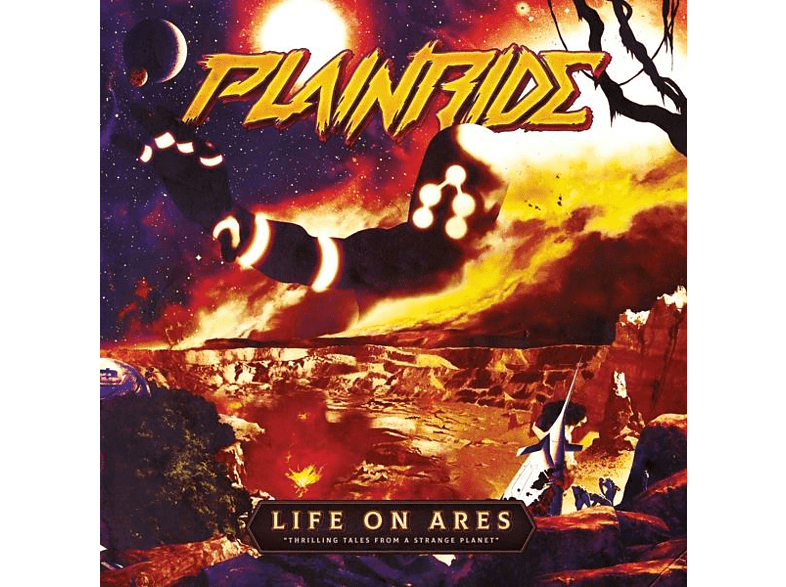 Plainride - LIFE ON ARES [CD]