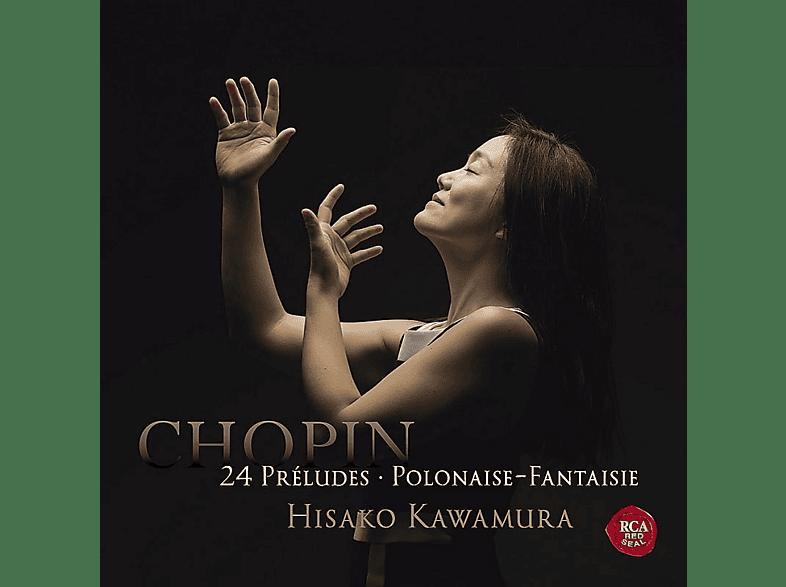 Hisako Kawamura - 24 PRELUDES & POLONAISE-FANTAISIE [CD]