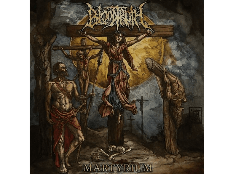 Bloodtruth - MARTYRIUM [CD]