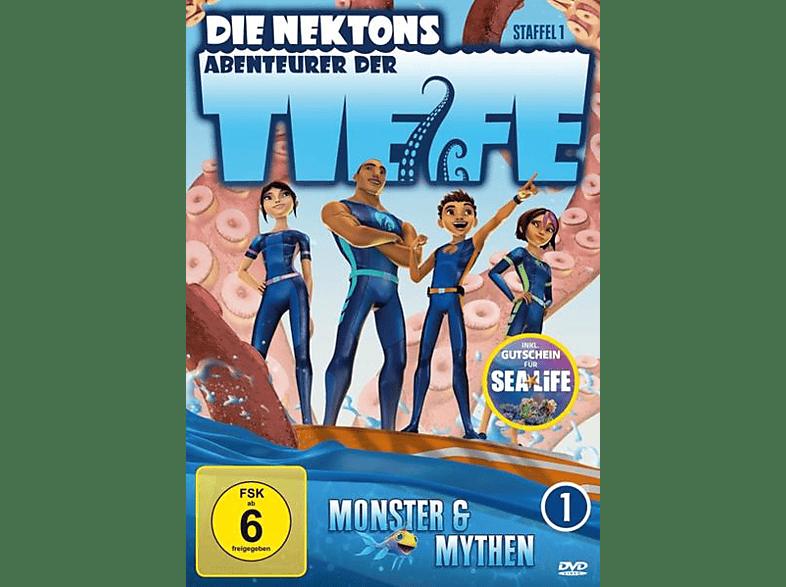 Die Nektons - Abenteuer der Tiefe (1.1) [DVD]