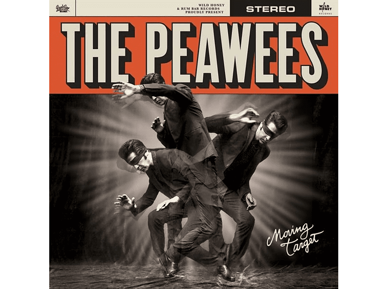 The Peawees - MOVING TARGET [CD]