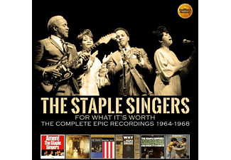 The Staple Singers - FOR WHAT IT S WORTH-THE COMPLETE REC (BOX) - (CD)