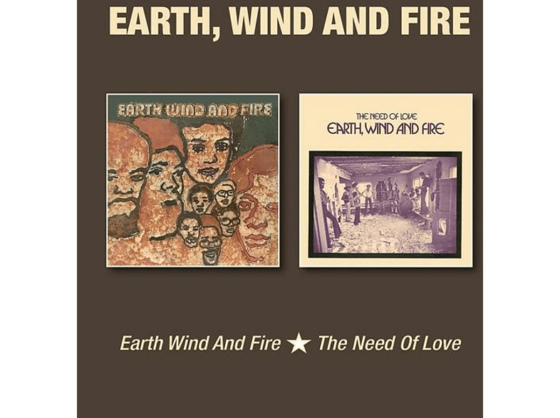Earth, Wind & Fire - THE NEED OF LOVE [CD]