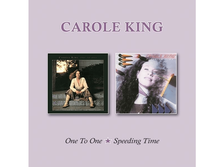 Carole King - ONE TO ONE/SPEEDING TIME [CD]