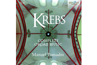 Manuel Tomadin - Krebs:Complete Organ Music [CD]