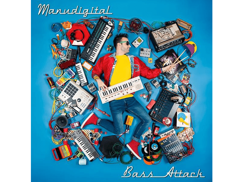 Manudigital - Bass Attack (Gatefold) [Vinyl]