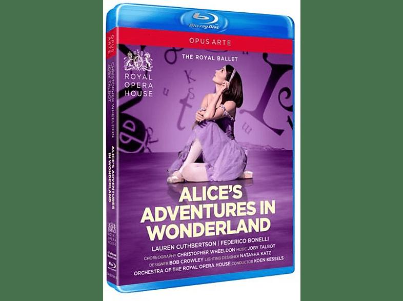Royal Opera House Koen Kessels - Alice's Adventures in Wonderland [Blu-ray]