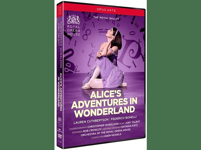 Royal Opera House Koen Kessels - Alice's Adventures in Wonderland [DVD]