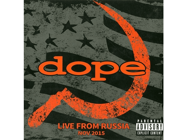 D.O.P.E. - Live From Russia [CD]