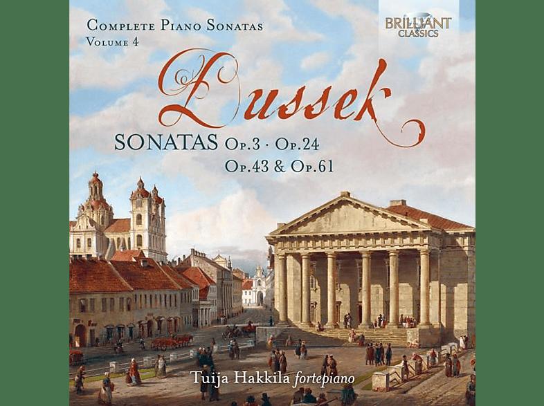 Tuija Hakkila - Dussek:Sonatas op.3,op.24,op.43 & op.61 [CD]