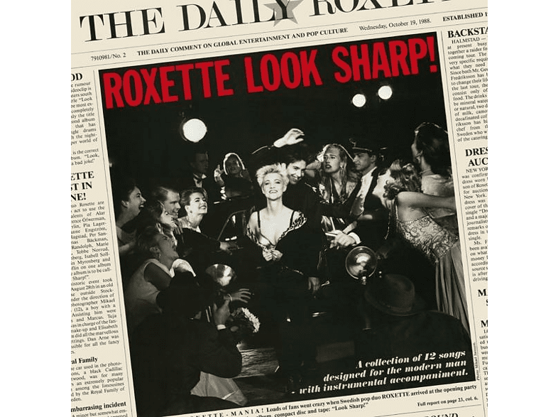 Roxette - Look Sharp! 30th Anniversary [CD]