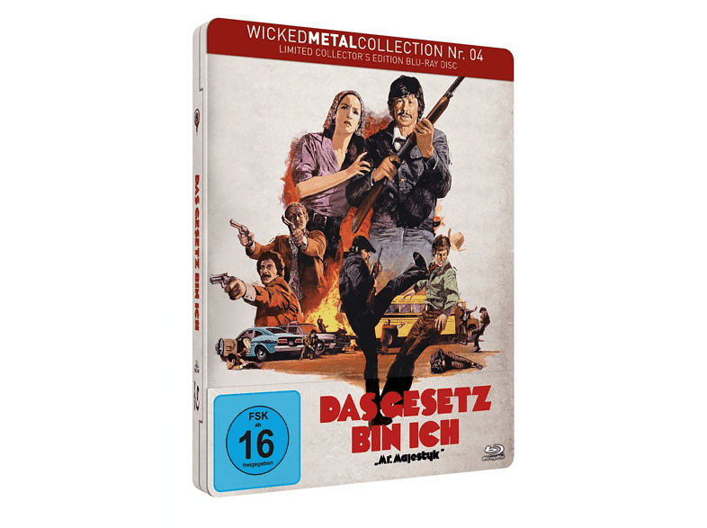 Das Gesetz bin ich - Wicked Metal Collection Nr. 4 [Blu-ray]