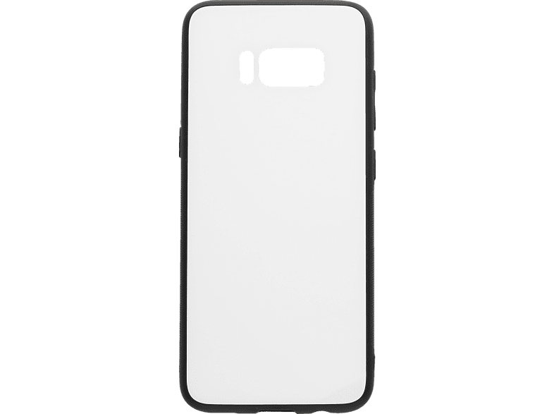 V-DESIGN VGL 024 , Backcover, Samsung, Galaxy S8, Glas, Weiss