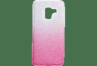 V-DESIGN VSP 017 , Backcover, Samsung, A8 2018, Plastik + Thermoplastisches Polyurethan, Pink
