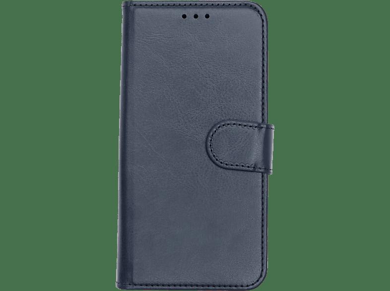 V-DESIGN V-2-1 125 , Bookcover, Samsung, Galaxy A8 (2018), Kunstleder, Blau