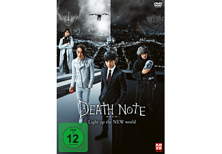Death Note: Light Up the New World DVD