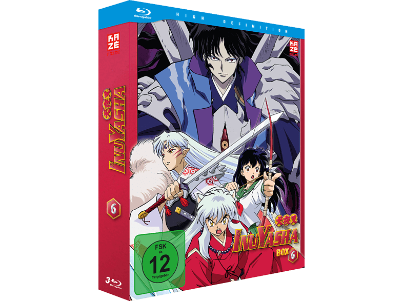 InuYasha - Die TV Serie - Box Vol. 6 [Blu-ray]
