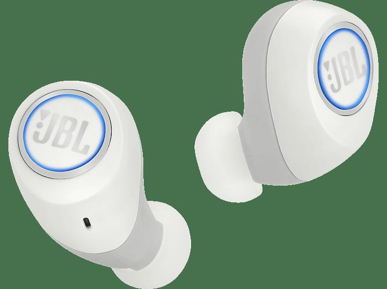 JBL Free X, In-ear True-Wireless-Kopfhörer Bluetooth Weiß