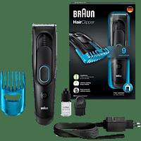 BRAUN HC 5010 Haarschneider Schwarz