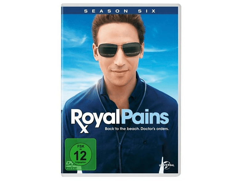 Royal Pains Staffel 6 [DVD]