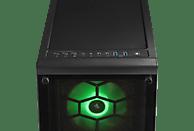 HYRICAN CRYSTAL ANNIVERSARY 6056, Gaming PC mit Core™ i7 Prozessor, 16 GB RAM, 500 GB SSD, 2 TB HDD, GeForce® RTX™ 2080 Ti, 11 GB