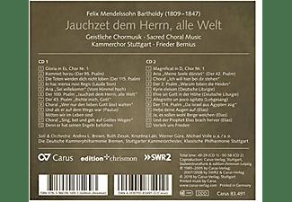 Kammerchor Stuttgart - SACRED CHORAL MUSIC  - (CD)