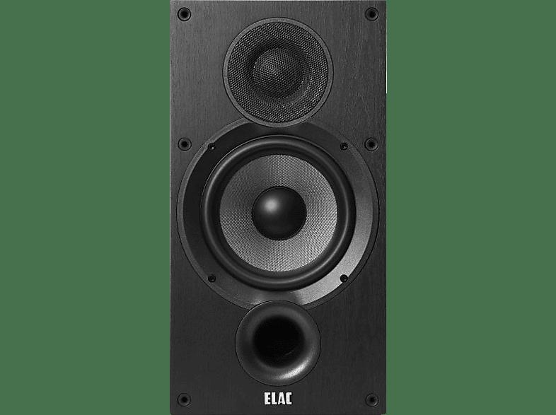 ELAC Debut B6.2 Regallautsprecher (Schwarz)