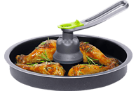 TEFAL YV 9601 ActiFry 2in1 Fritteuse, Schwarz/Silber