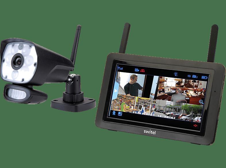 SWITEL HSIP6000 Funk Video-Überwachungssystem mit LED-Licht Outdoor Security