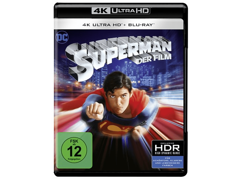 Superman [4K Ultra HD Blu-ray + Blu-ray]