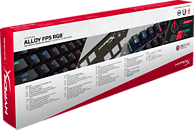 HYPERX Alloy FPS RGB Speed Silver, Gaming Tastatur, Mechanisch