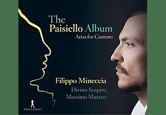 Filippo Mineccia - ARIAS FOR CASTRATO  - (CD)