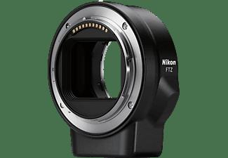 NIKON Z6 Kit FTZ  Systemkamera mit Objektiv 24-70 mm 1:4 S, 8 cm Display Touchscreen, WLAN