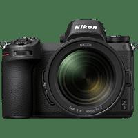 NIKON Z6 Kit FTZ  Systemkamera 24.5 Megapixel mit Objektiv 24-70 mm 1:4 S, 8 cm Display Touchscreen, WLAN