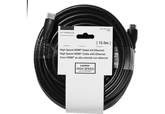 VIVANCO High Speed, HDMI Kabel, 15 m