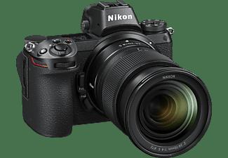 NIKON Z6 Kit  Systemkamera mit Objektiv 24-70 mm 1:4 S, 8 cm Display Touchscreen, WLAN