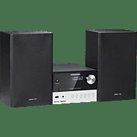 GRUNDIG CMS 2000 Kompaktanlage (Schwarz/Silber)