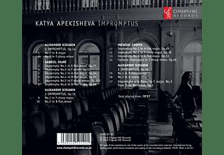 Katya Apekisheva - Impromptus-Werke für Klavier solo  - (CD)