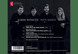 The Piatti Quartet - Albion Refracted-Werke für Streichquartett  - (CD)
