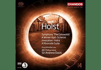 Bbc Philharmonic Sir Andrew Davis G - Orchesterwerke Vol.4-Sinfonie 4/Indra/+  - (SACD Hybrid)