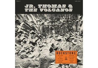 Jr. Thomas & The Volcanoes - Rockstone (MC)  - (MC (analog))